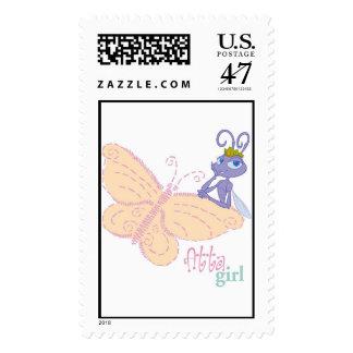 "Bug's Life Princess Atta ""atta girl"" butterfly Postage"