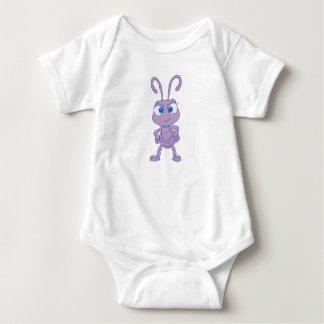 Bug's Life Princess Dot standing hands on hips Baby Bodysuit