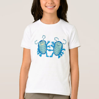 Bug's Life Tuck and Roll rollie pollies beetles T-Shirt