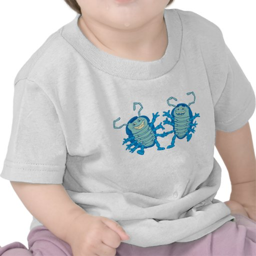 Bug's Life Tuck and Roll rollie pollies beetles Tee Shirt