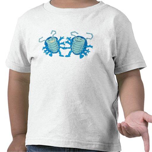 Bug's Life Tuck and Roll rollie pollies beetles Tshirt