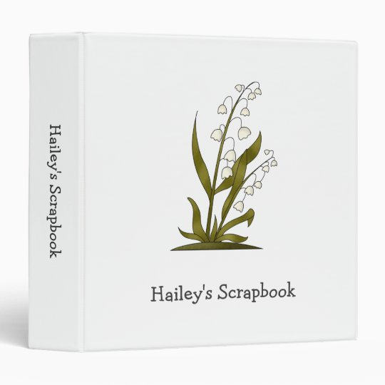 Bugs 'n' Blooms · Lily of the Valley 3 Ring Binder