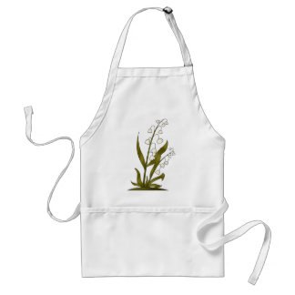 Bugs 'n' Blooms · Lily of the Valley Adult Apron