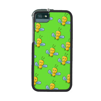 Bugs Pattern Yellow and Bright Green iPhone 5/5S Covers