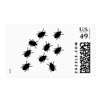 Bugs Postage Stamps