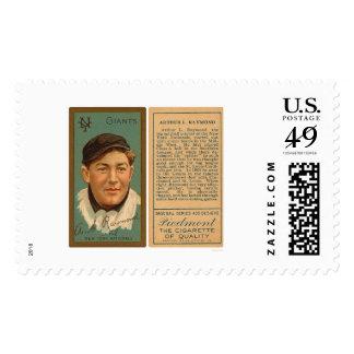 Bugs Raymond Giants Baseball 1911 Stamps