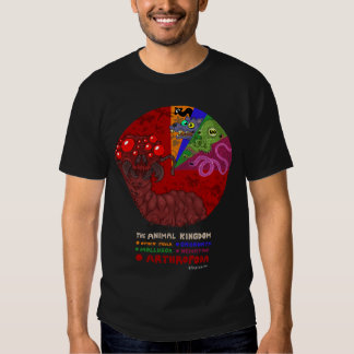 Bugs rule the world t shirt