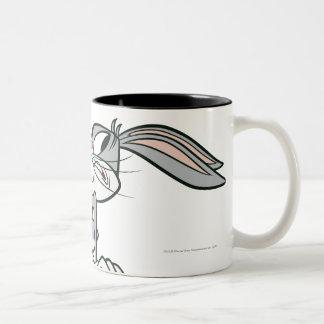 Bugs Running Two-Tone Coffee Mug