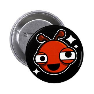 Bugs World Standard Round Button