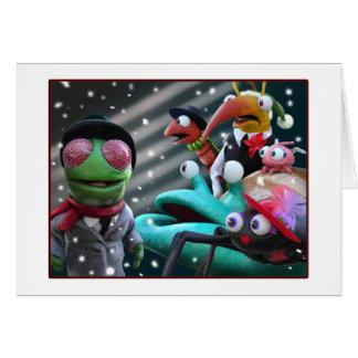 Bugsy Christmas card