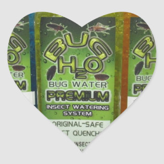 BugWater-Insect Quencher Gear BugH2o.com Heart Sticker