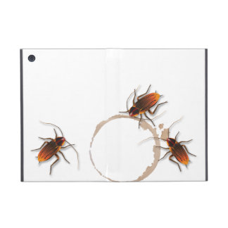 Bugzeez_Icky Roaches_coffee pegajoso, trío del ani iPad Mini Cárcasa