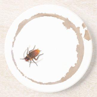 Bugzeez™_Icky Sticky Roaches beverage coaster coaster