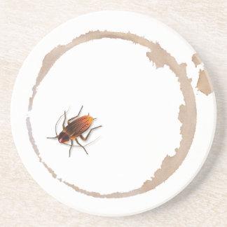 Bugzeez™_Icky Sticky Roaches beverage coaster