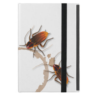 Bugzeez_Icky Sticky Roaches_coffee, cola ring trio Cases For iPad Mini