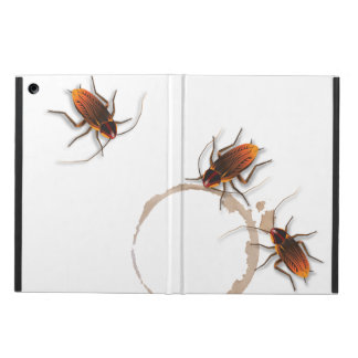 Bugzeez_Icky Sticky Roaches_coffee, cola ring trio iPad Air Cover