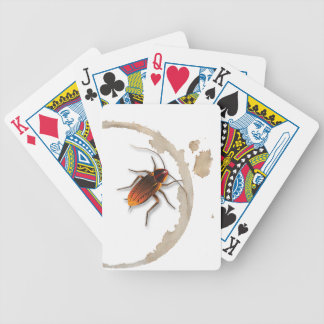 Bugzeez_Icky Sticky Roaches_drink ring stain Bicycle Playing Cards