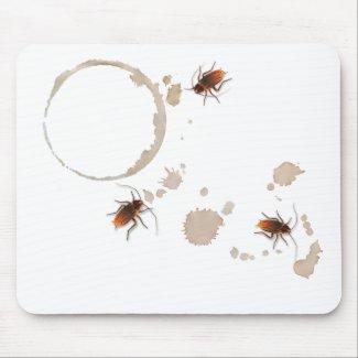 Bugzeez_Icky Sticky Roaches mousepad mousepad