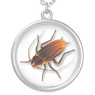 Bugzeez™_The Artful Roach necklace charm pendant
