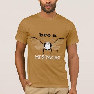 Bugzter Bee a Mostacho Pumpkin Color T-Shirt