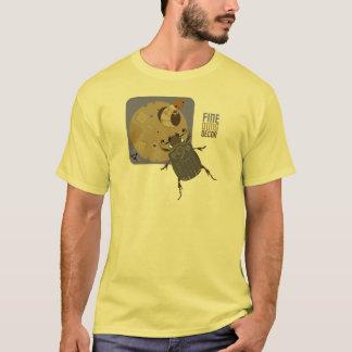 Bugzter - Dung Beetle hanging up wall art T-Shirt