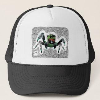 Bugzter - Happy Hairy Spider Trucker Hat