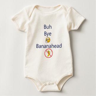 Buh bye Bananahead! Baby Bodysuit