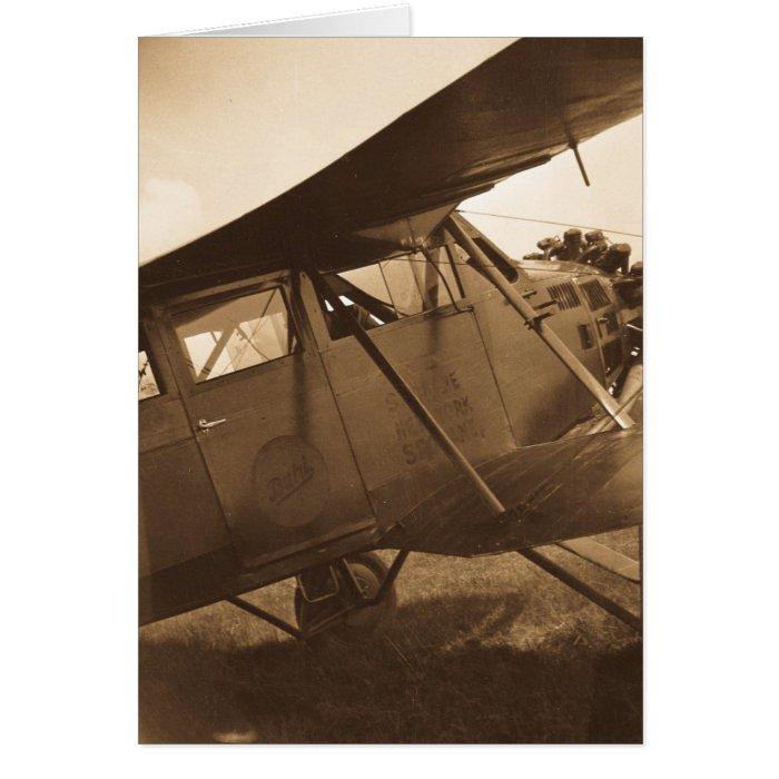 Buhl Aircraft - Marysville MIchigan - Vintage Card