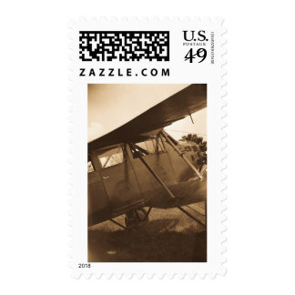 Buhl Aircraft - Marysville MIchigan - Vintage Postage Stamp