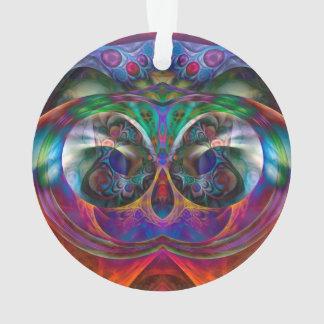 Búho abstracto del Apophysis I