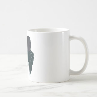 Búho abstracto taza clásica