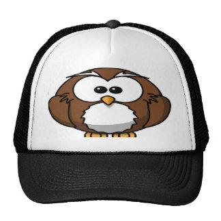 búho al azar gorras
