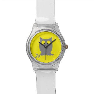 BÚHO bizco Reloj De Mano