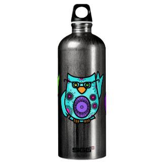 Búho Botella De Agua