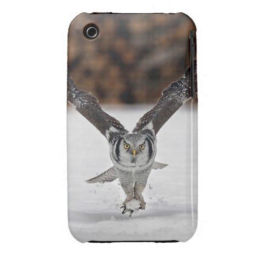 Búho Case-Mate iPhone 3 Carcasas