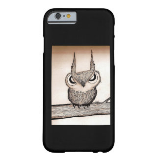 Búho con actitud funda barely there iPhone 6