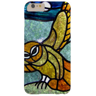 Búho con clase del vitral - iPhone 6 Barely There Funda Barely There iPhone 6 Plus