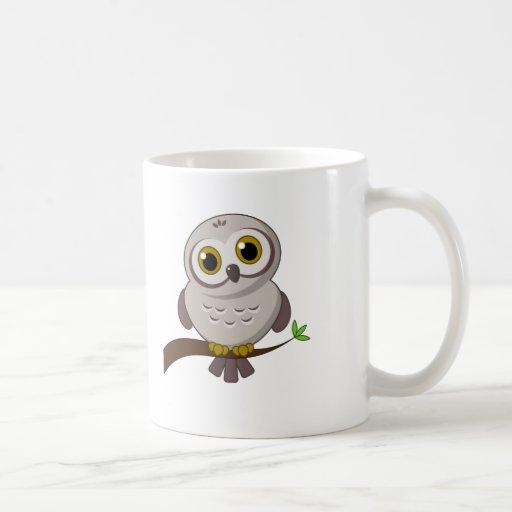 Búho Cutie Taza De Café
