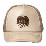 Búho de Brown Gorros Bordados