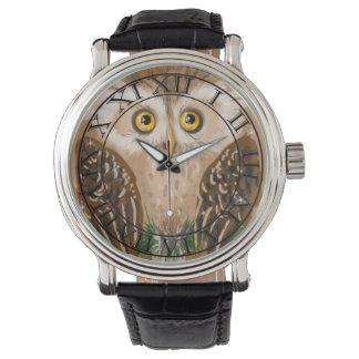 Búho de Brown Reloj