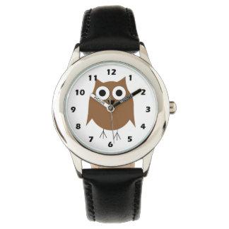 Búho de Brown Relojes De Mano
