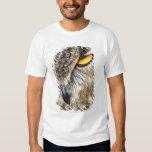 Búho de Eagle del eurasiático (bubón del bubón) Camisas
