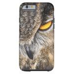 Búho de Eagle del eurasiático (bubón del bubón) Funda Para iPhone 6 Tough
