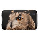 Búho de Eagle del eurasiático iPhone 3 Tough Cárcasa