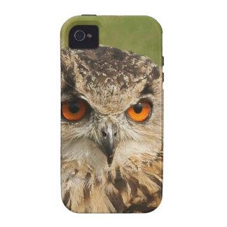 Búho de Eagle Case-Mate iPhone 4 Carcasa