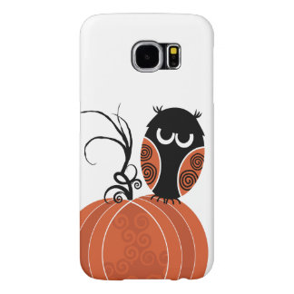 Búho de Halloween Fundas Samsung Galaxy S6