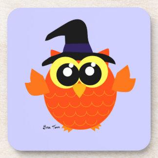 Búho de Halloween Posavaso