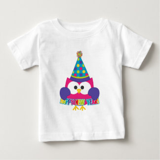 Búho de la Feliz Año Nuevo T Shirts