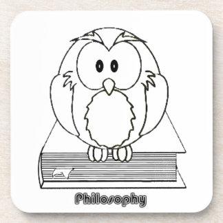 Búho de la filosofía del livro de COM de Filosofia Posavaso