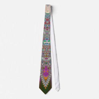 Búho de la primavera corbata personalizada